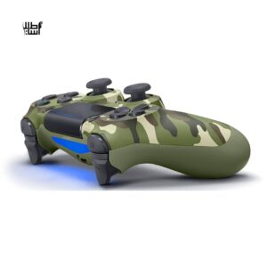 دسته بازی مدل Sony DualShock 4 Wireless Controller Green Camouflage